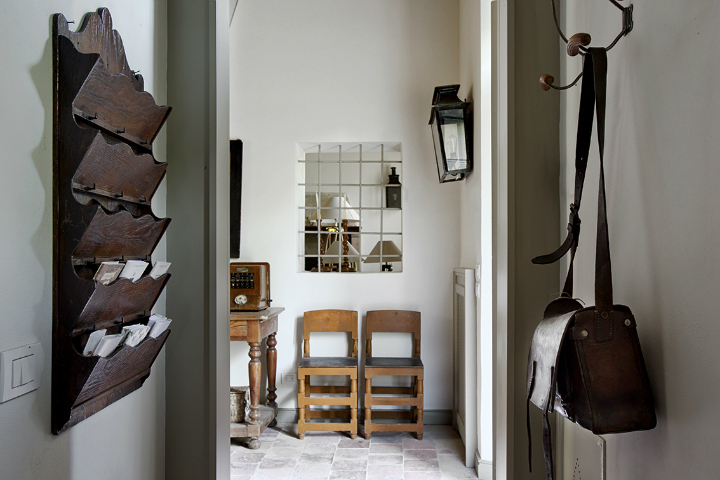 Shabby-Chic Modern Rustic Interior