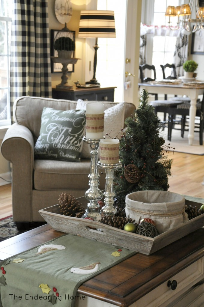 Country Christmas Tree Coffee Table