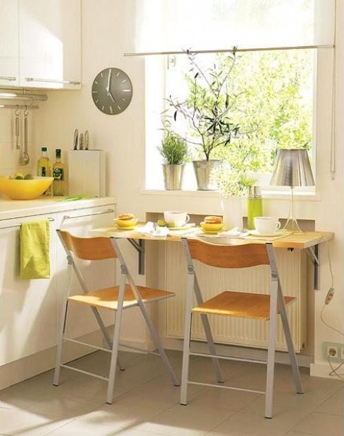 10 Stylish Table - Eat In Small Kitchen Ideas - Decoholic