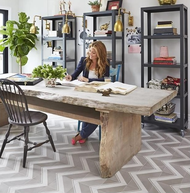Genevieve Gorder' s home office