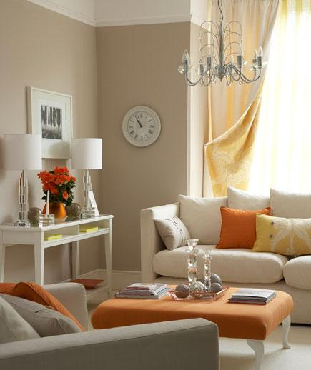Bright Orange Living Room Accessories: 5 Living Room Ideas: Make It More Inviting And Welcoming