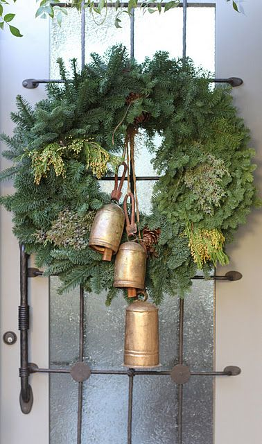 Rustic Christmas Front Door