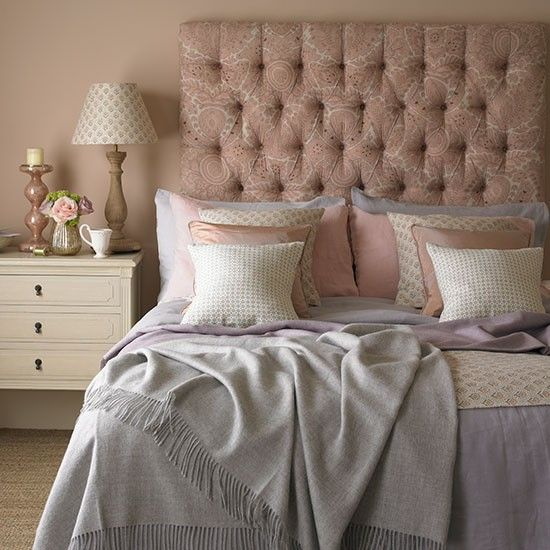 Rose and quartz bedroom