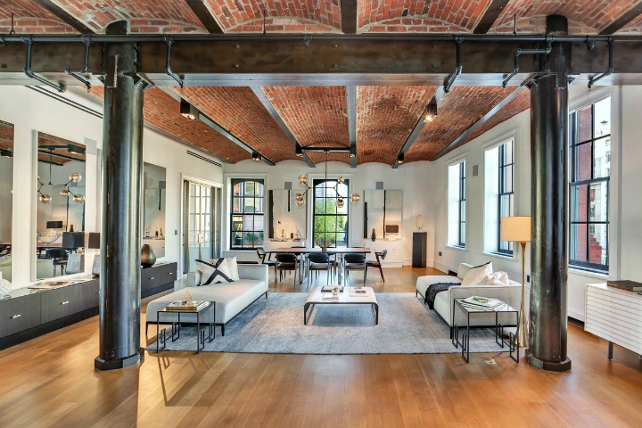 18 500 000 luxury loft in soho decoholic for Loft soho new york