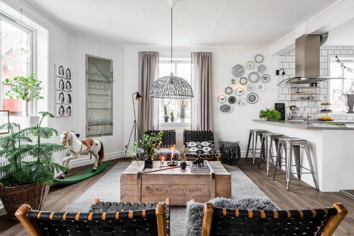 Scandinavian Interior With Character