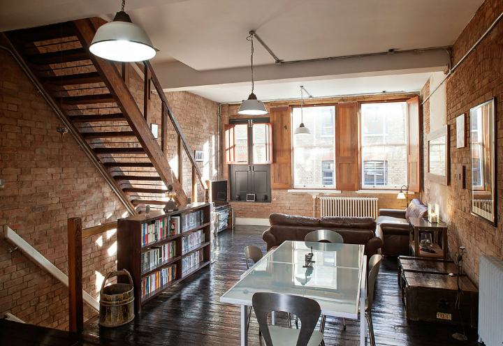 Shoreditch Warehouse Turned Into A Family Home 2