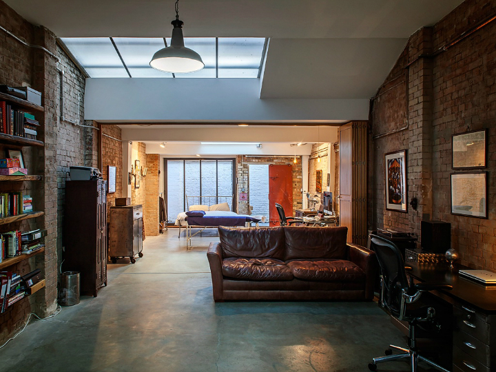 Shoreditch Warehouse Turned Into A Family Home 7