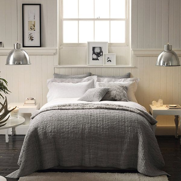 10 amazing neutral bedroom designs decoholic for Grey and neutral bedroom