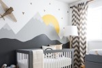 boy's baby nursery room dimming lamp