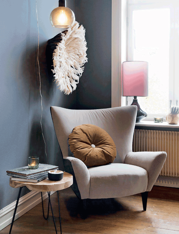 dramatic Scandinavian casual style interior 5