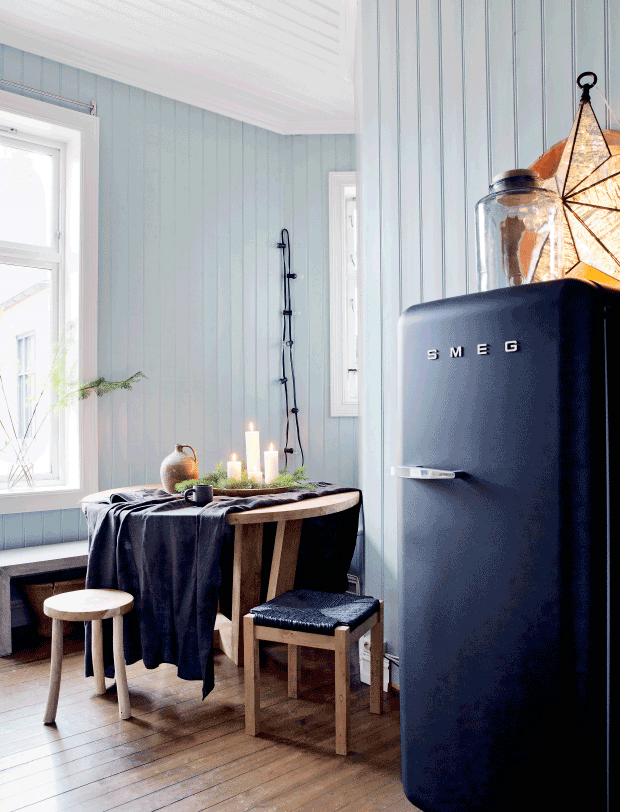 dramatic Scandinavian casual style interior 6
