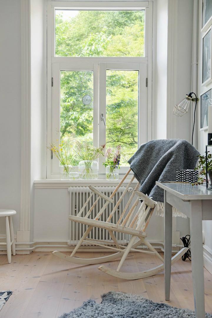Lightful and Fresh Scandinavian modern Apartment interior 10