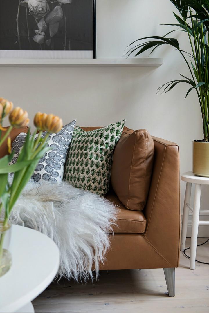 Lightful and Fresh Scandinavian modern Apartment interior 13