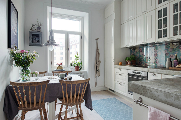 Lightful and Fresh Scandinavian modern Apartment interior 14