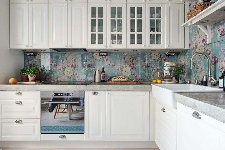 Lightful and Fresh Scandinavian modern Apartment interior 15