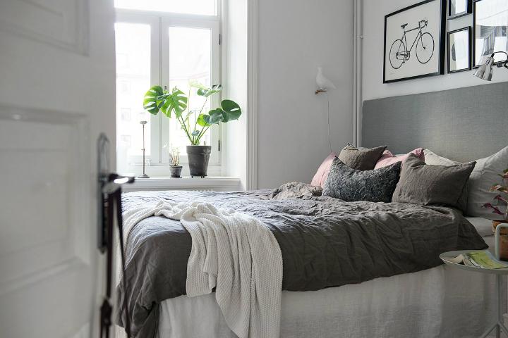 Lightful and Fresh Scandinavian modern Apartment interior 23