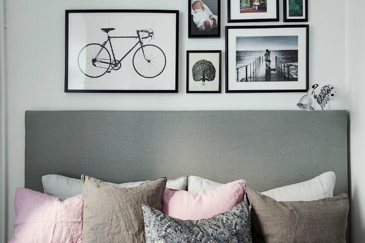 Lightful and Fresh Scandinavian modern Apartment interior 24