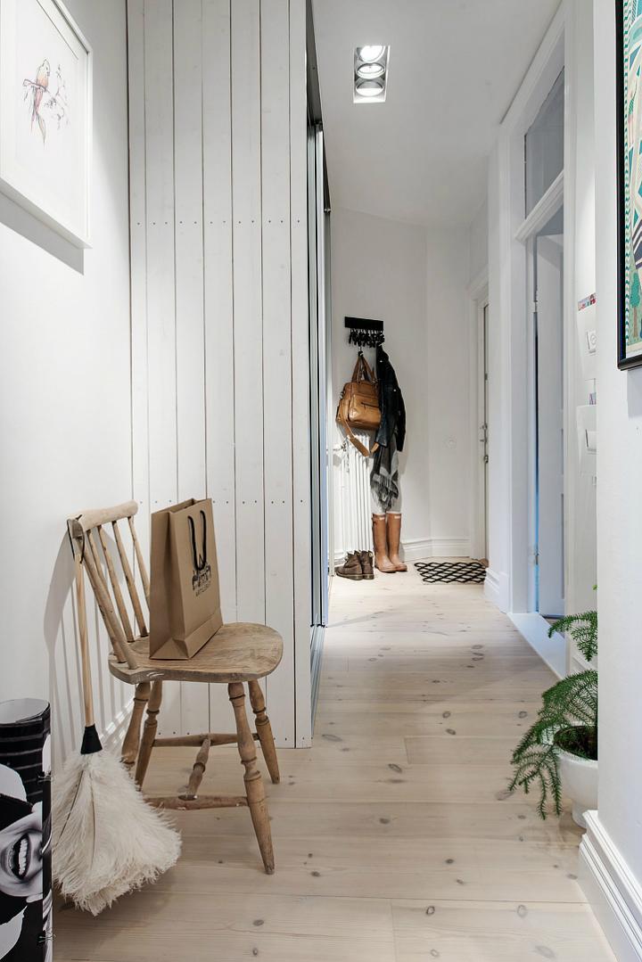 Lightful and Fresh Scandinavian modern Apartment interior 28