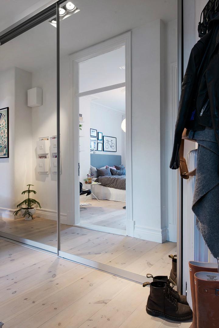 Lightful and Fresh Scandinavian modern Apartment interior 29