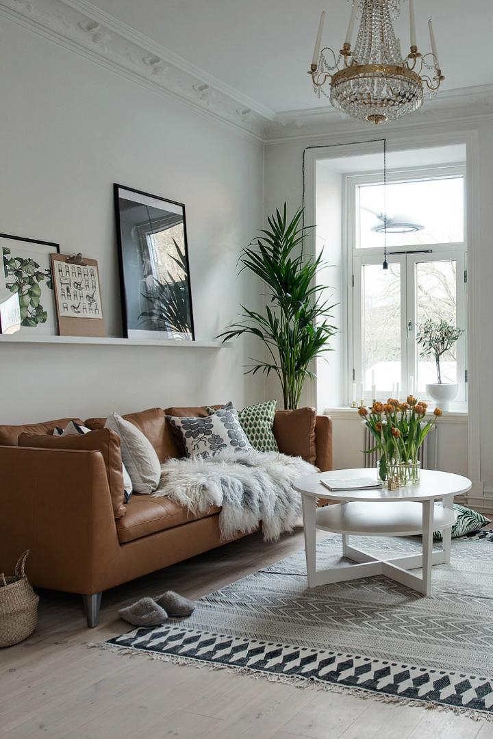 Lightful and Fresh Scandinavian modern Apartment interior 8