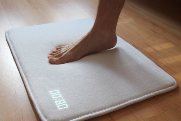 Oversnoozing is Over with this Incredible Rug Alarm Clock 3