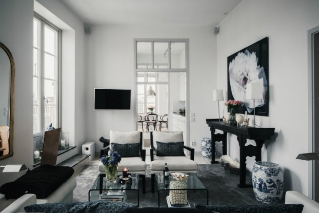 home Decor In Black And White