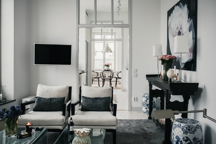 home Decor In Black And White 7
