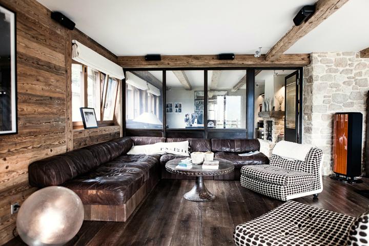 Log Cabin Interior Fever