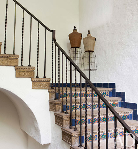 Sheryl Crow's spanish staircase