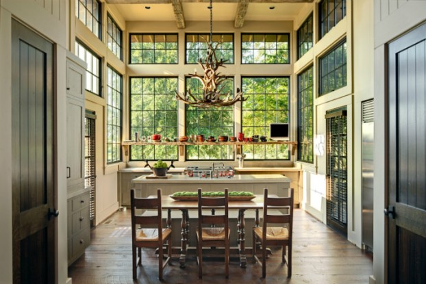 Traditional And Modernistic Rural country elegant kitchen