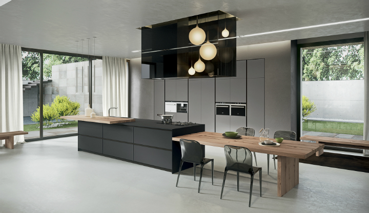 Contemporary Kitchen which Combines Planning Flexibility Technology and New Materials 10