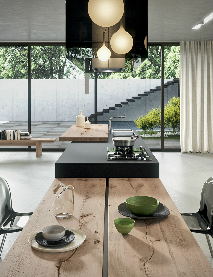 Contemporary Kitchen which Combines Planning Flexibility Technology and New Materials 11