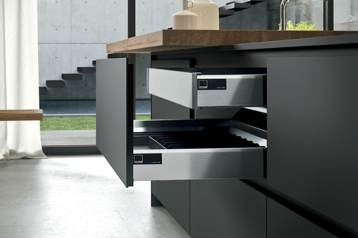 Contemporary Kitchen which Combines Planning Flexibility Technology and New Materials 12