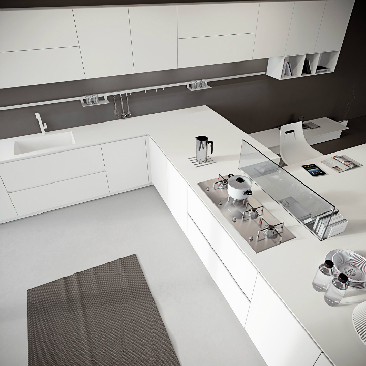 Contemporary Kitchen which Combines Planning Flexibility Technology and New Materials 15