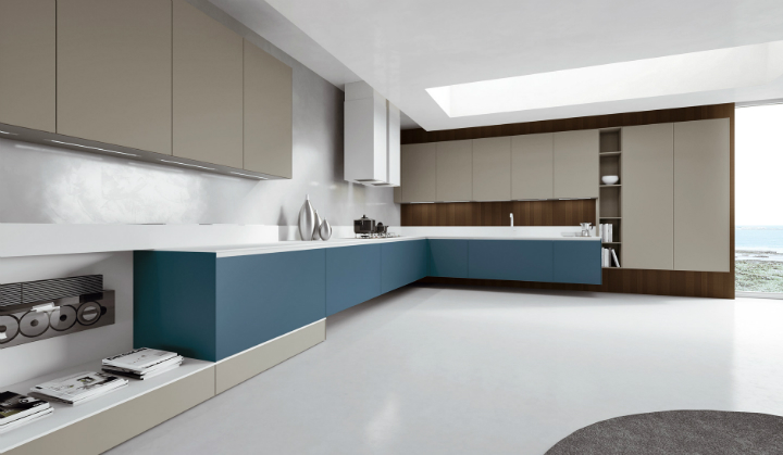Contemporary Kitchen which Combines Planning Flexibility Technology and New Materials 16