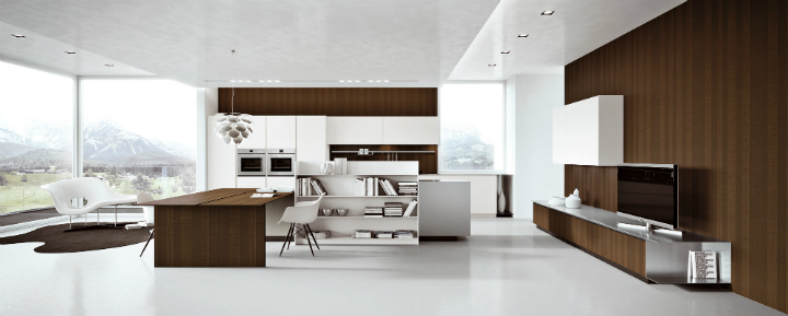 Contemporary Kitchen which Combines Planning Flexibility Technology and New Materials 4