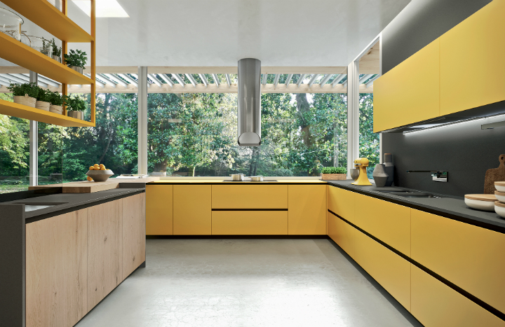 Contemporary Kitchen which Combines Planning Flexibility Technology and New Materials 7
