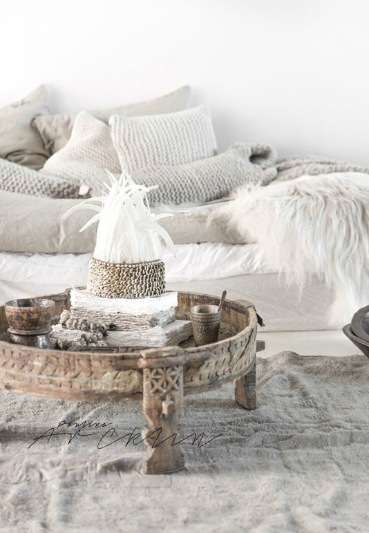 Boho Coffee Table Decor