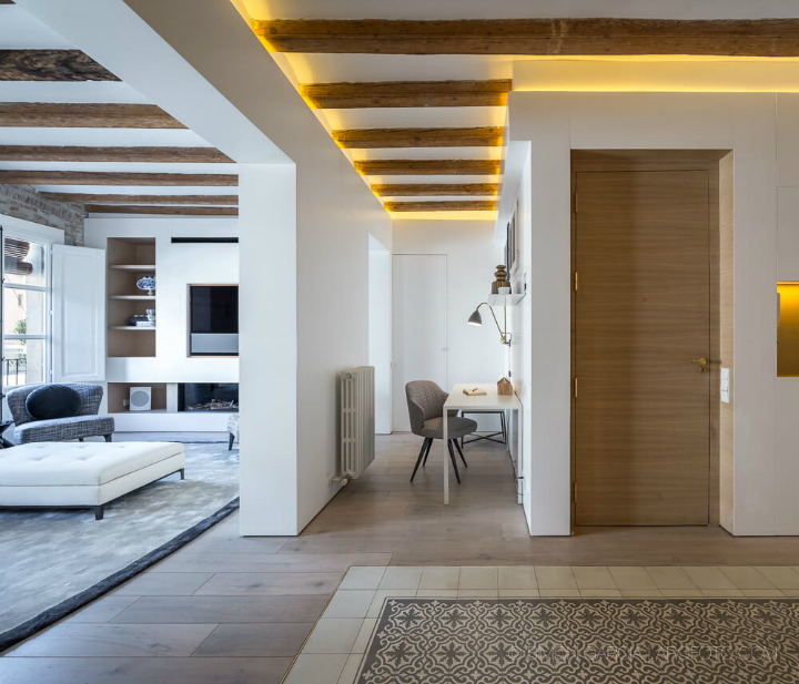 Open Space Sophistication apartment by aagf architecture 4
