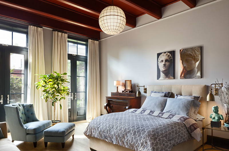 townhouse traditional and modern interior by kevin dankan 12