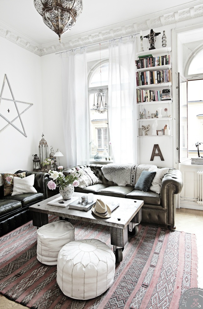 10 ways to give your living room a bohemian vibe decoholic - Decoration chic et charme ...