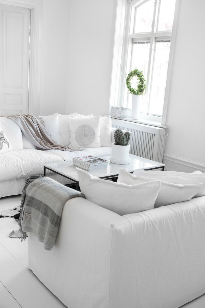 Dream White Scandinavian Home With Lots Of Character 10