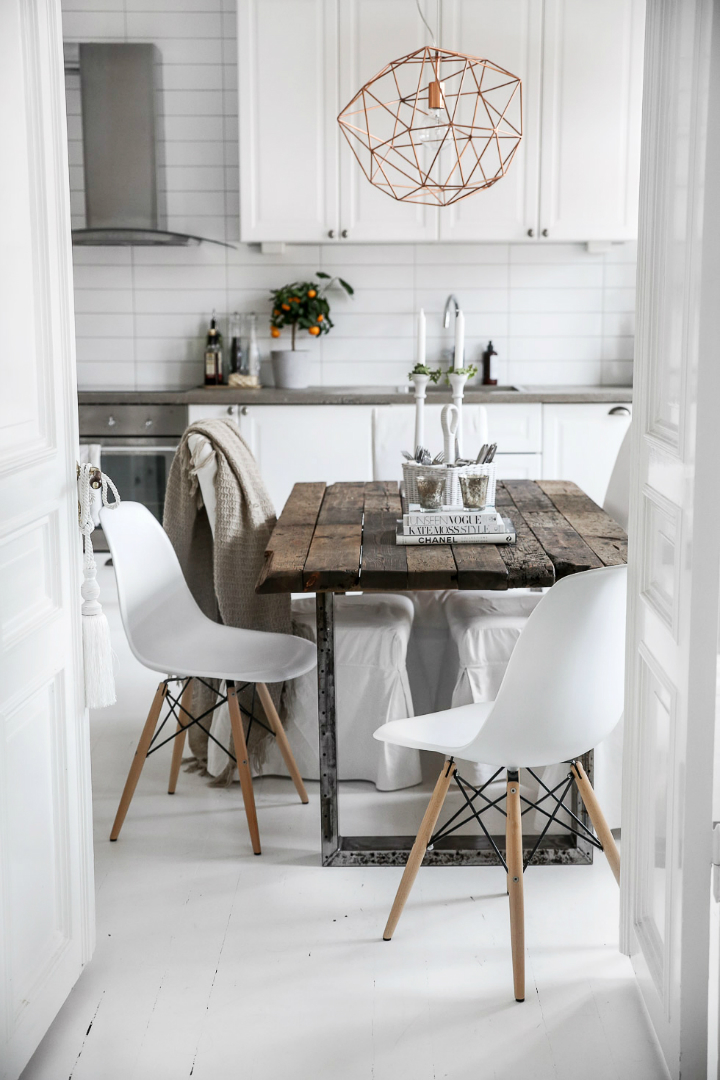 Dream White Scandinavian Home With Lots Of Character 28