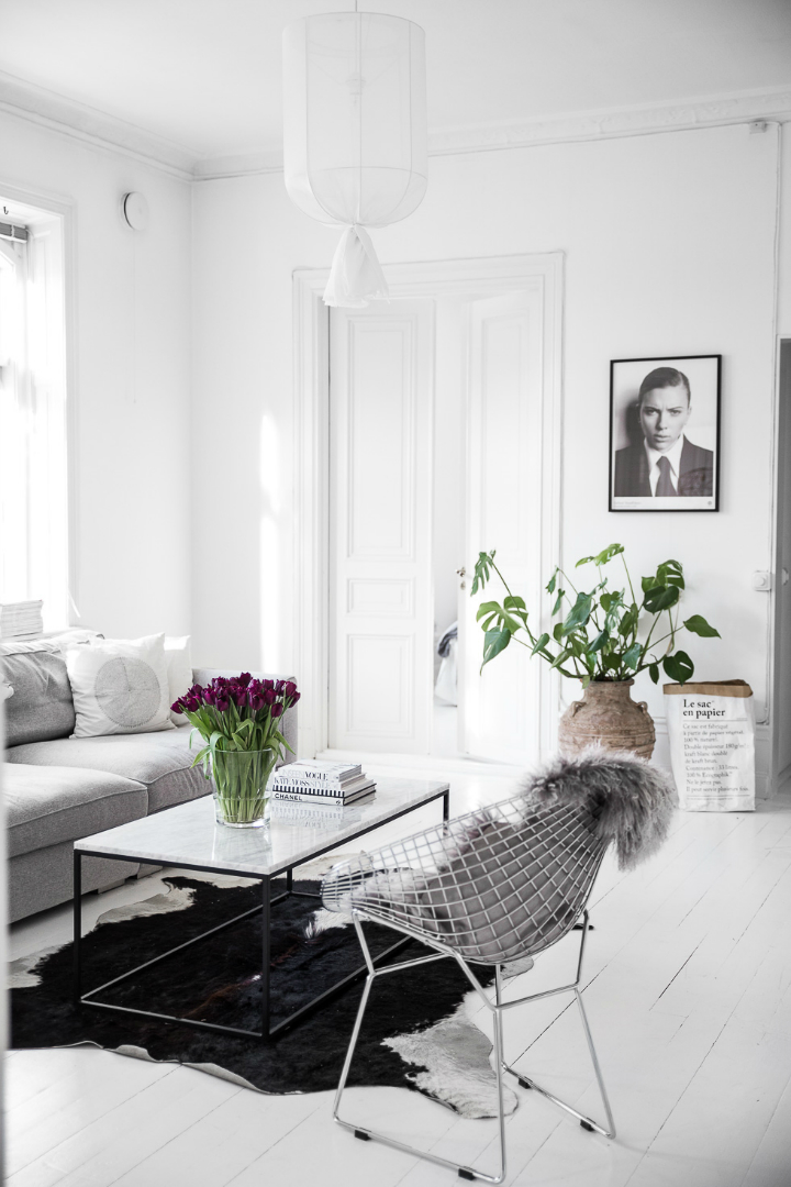 Dream White Scandinavian Home With Lots Of Character 5