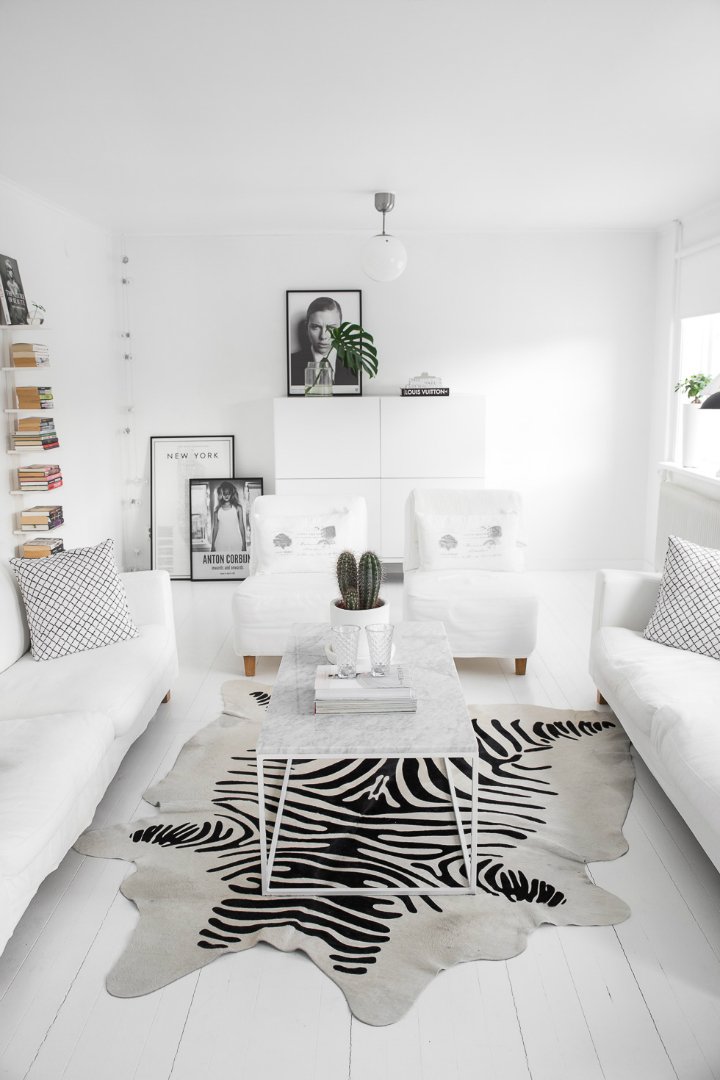 Dream White Scandinavian Home With Lots Of Character