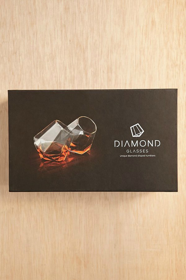Drink A Diamond Glass Set 3