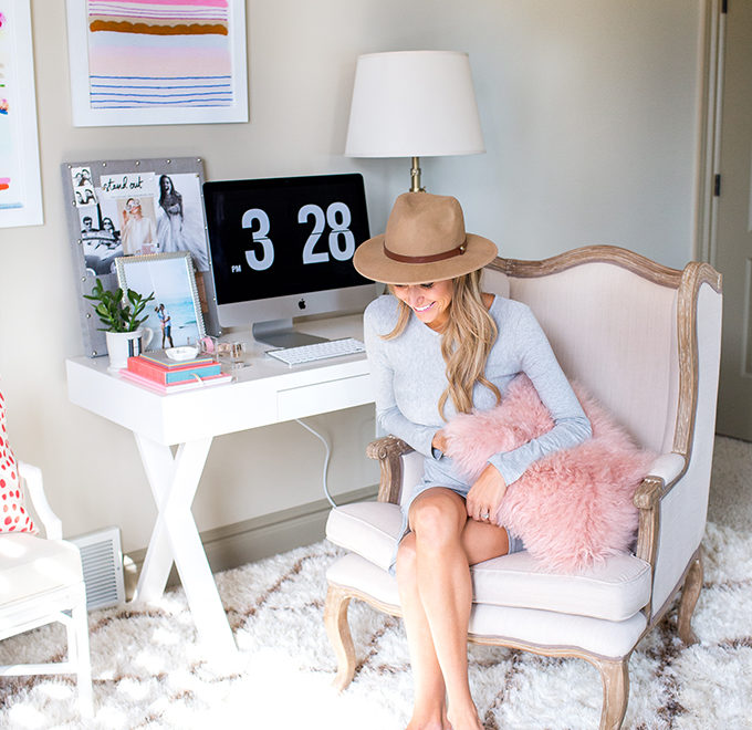 Fashion Blogger's Home Office 2