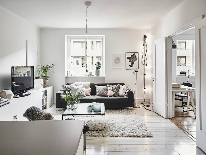 Grey Tones And Functionality scandi home interior 14