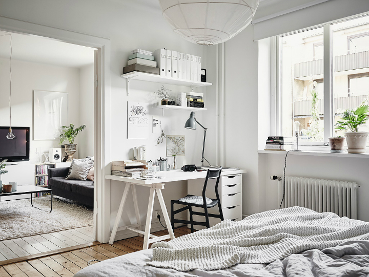 Grey Tones And Functionality scandi home interior 21