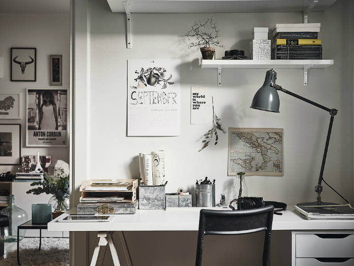Grey Tones And Functionality scandi home interior 22